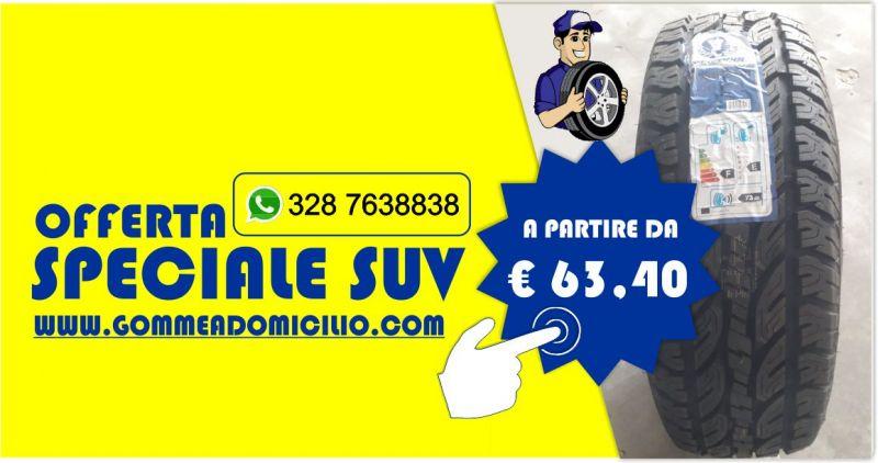 Vendita Gomme auto online  prezzi ingrosso - offerta pneumatici suv consegna a domicilio