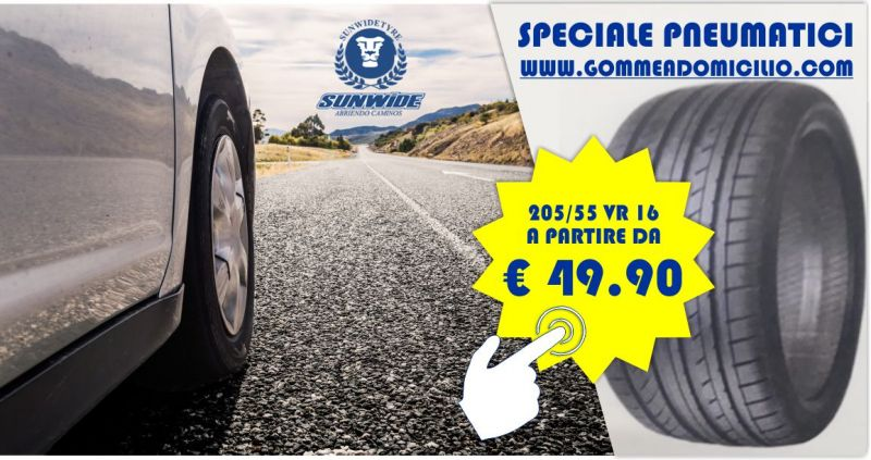 Vendita Gomme auto online  prezzi ingrosso - offerta pneumatici Sunwide 205/55 VR 16