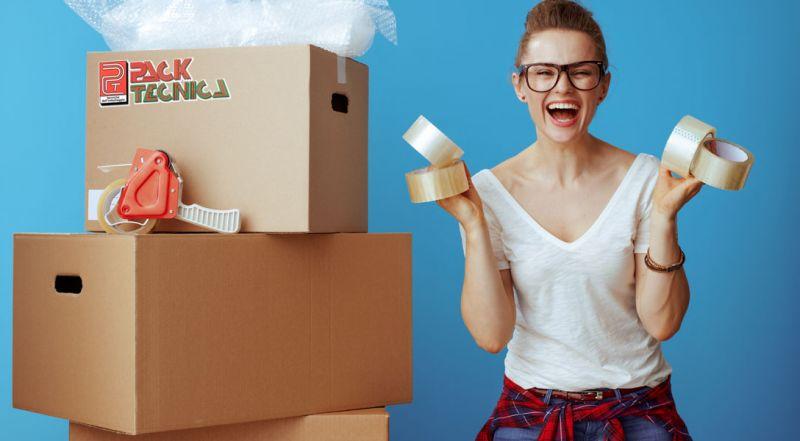 Offerta nastri adesivi neutri per imballaggi Parma – Promozione nastri neutri per pacchi Parma