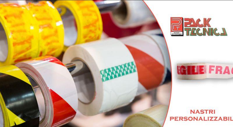 Pack Tecnica - offerta nastri adesivi con logo aziendale parma - promozione nastri adesivi personalizzati per pacchi e imballaggi parma