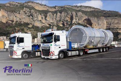 trasporti peterlini offerta trasporti speciali promozione trasporto eccezionale automezzi