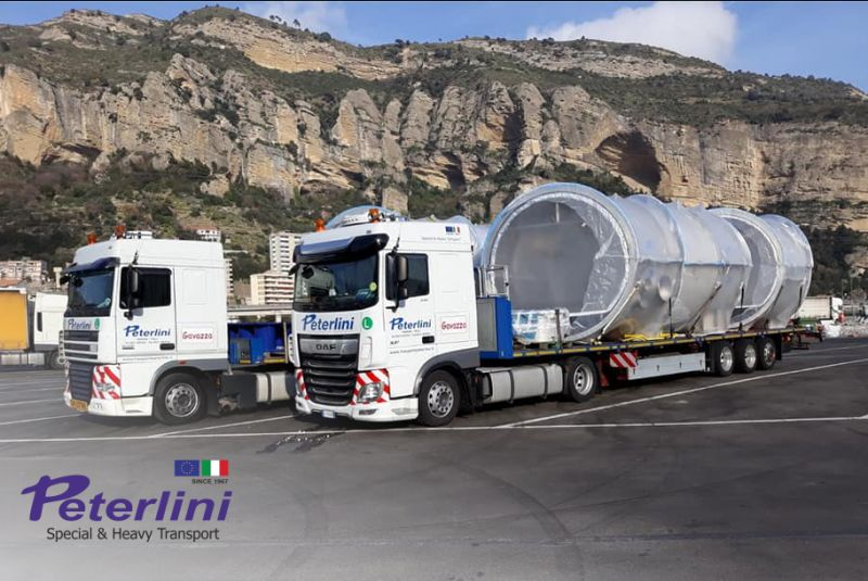 TRASPORTI PETERLINI offerta trasporti speciali - promozione trasporto eccezionale automezzi