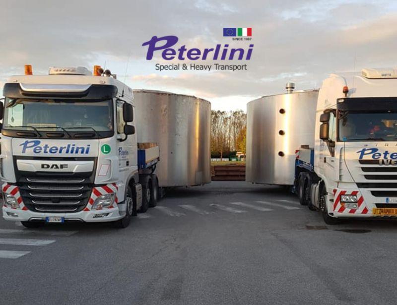 TRASPORTI PETERLINI offerta trasporto eccezionale - promozione trasporti straordinari