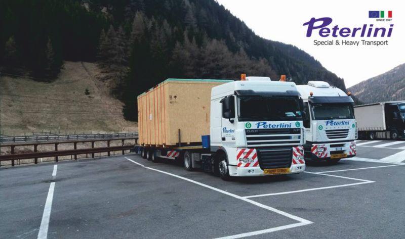 TRASPORTI PETERLINI offerta trasporto macchinari industriali - promo movimentazioni eccezionali