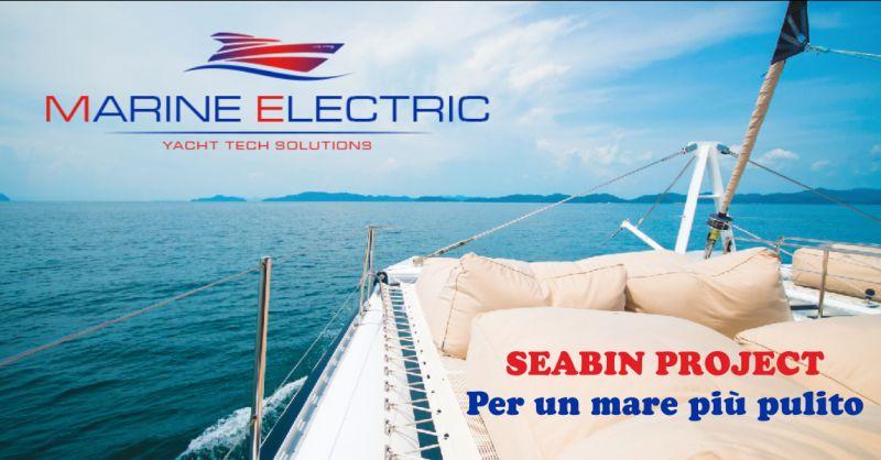 marine electric offerta seabin project italia - occasione mare pulito senza plastica imperia