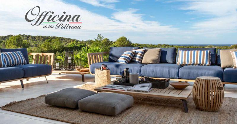offerta tessuti per salotti esterni chieti - occasione rivestimento divani da esterno arielli