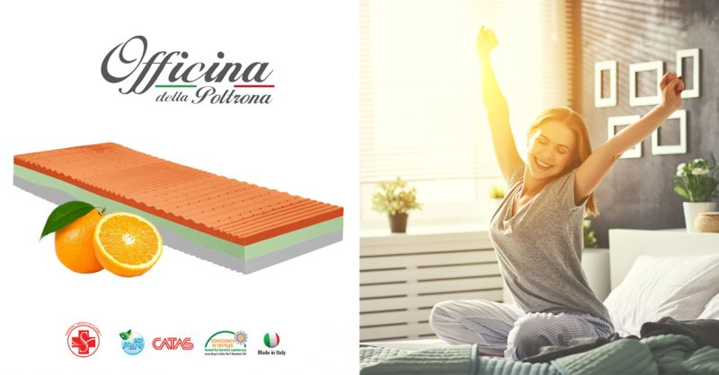 offerta materasso alla vitamina C chieti - occasione materasso memory energizzante chieti