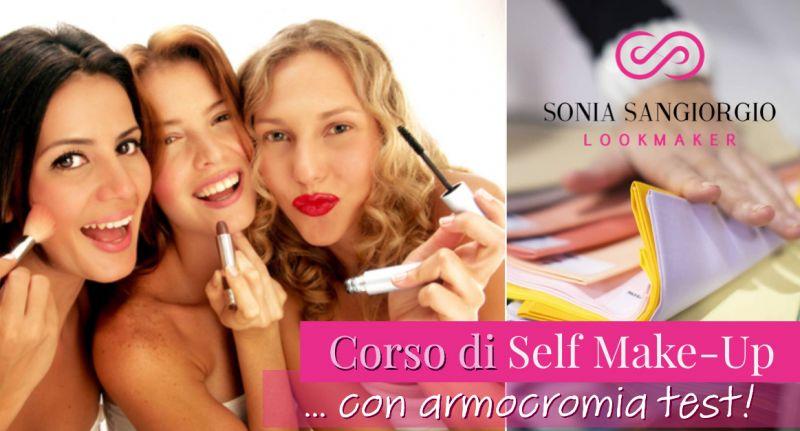 Sangiorgio Sonia  offerta corso di auto trucco - occasione corso make up base Catania