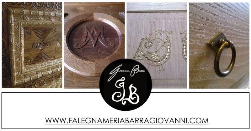 FALEGNAMERIA ARTIGIANALE GIOVANNI BARRA - offerta progettazione mobili in legno Samugheo