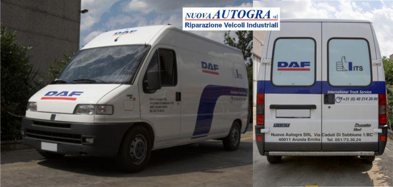 NUOVA AUTOGRA offerta assistenza stradale veicoli commerciali e industriali DAF Bologna