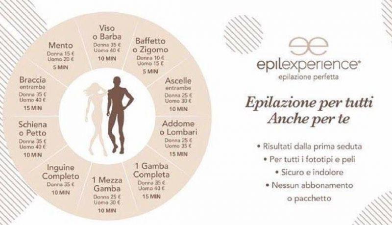 Depilazione laser indolore Epilexperience