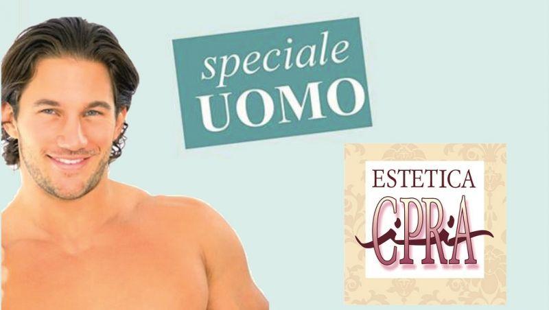 offerta trattamenti estetici per uomo Lucca - promozione trattamenti viso e corpo Lucca