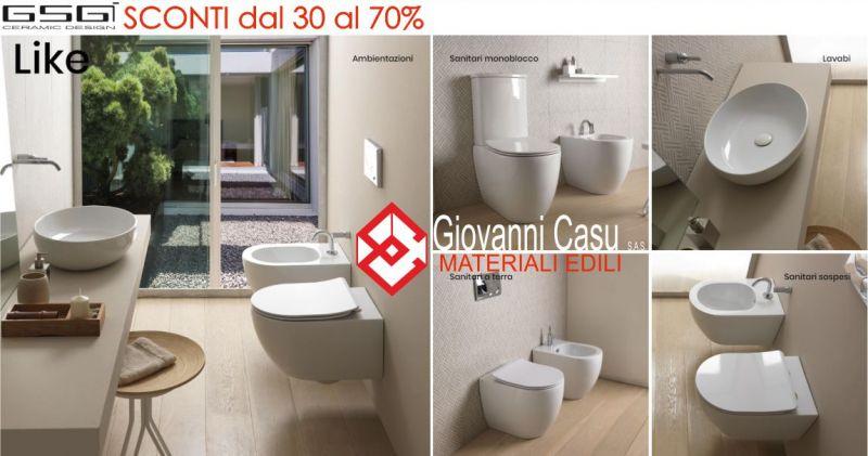 CASU GIOVANNI - promozione sanitari GSG Design Serie Like  Touch Oz