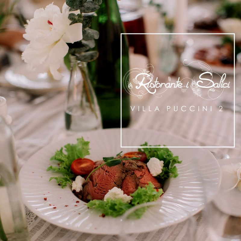 SALICI VILLA PUCCINI 2 offerta ristorante ricevimenti - promozione location eventi con giardino