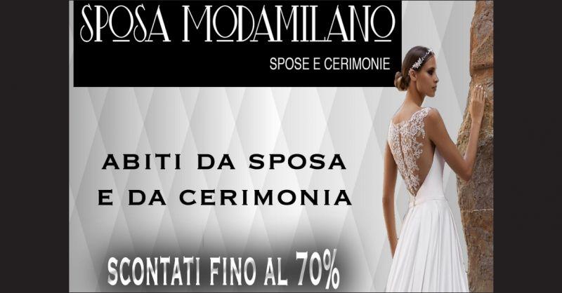 Sposa ModaMilano offerta abiti da sposa scontati Savona - occasione abiti da sposa  Savona