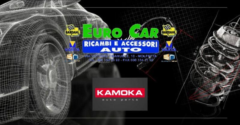 rivenditore kamoka bari - Offerta filtro Kamoka bari - offerta pastiglie freni kamoka