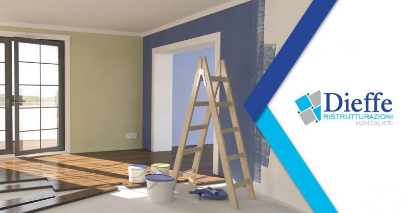 DIEFFE RISTRUTTURAZIONI- offerta ristrutturazione casa appartamenti torino provincia moncalieri