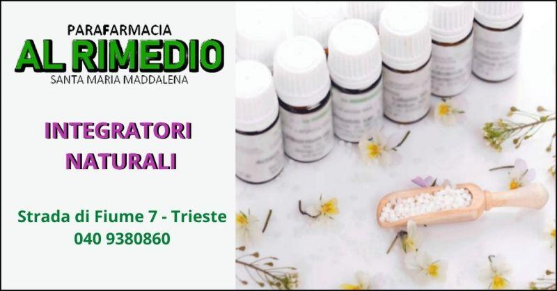 offerta integratori alimentari per cura e benessere corpo Trieste - PARAFARMACIA AL RIMEDIO