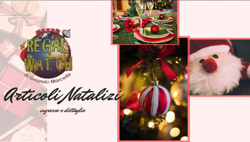 Regal watch offerta ingrosso articoli natale taranto - promozione decorazioni natale taranto