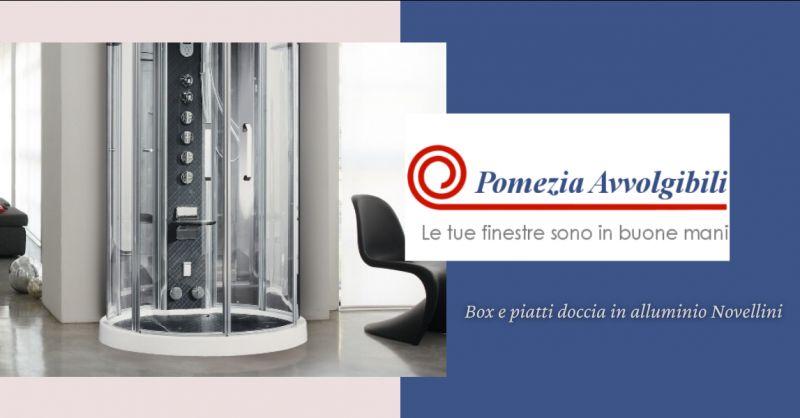 offerta vendita box doccia Novellini Latina - occasione vendita piatti doccia in alluminio Roma