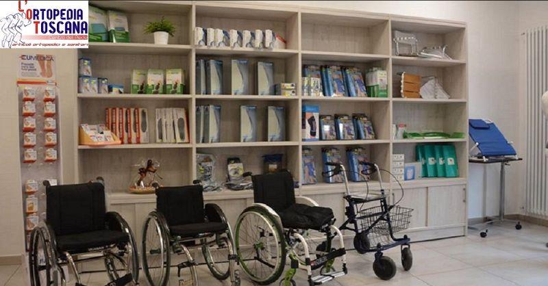 promozione vendita e noleggio articoli ortopedici e sanitari Agiliana - ORTOPEDIA TOSCANA