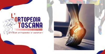 ortopedia toscana offerta vendita e produzione plantari su misura patologie piede pistoia