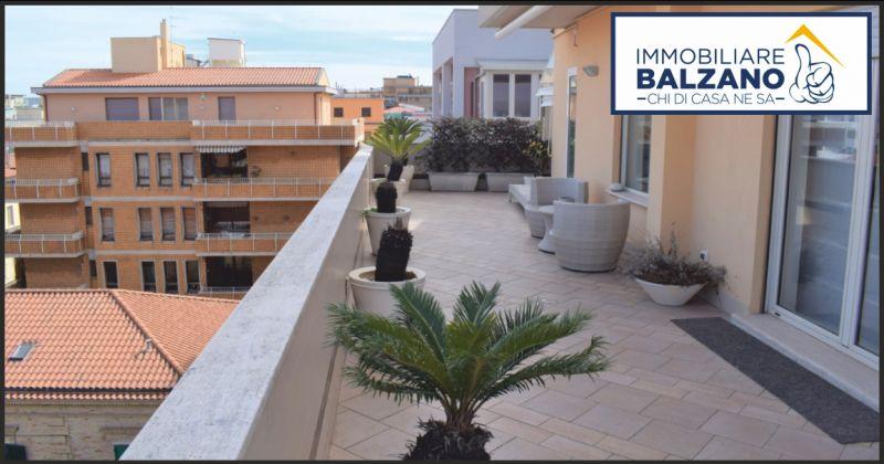 immobiliare balzano offerta vendita attico ristrutturato - occasione attico vicino al mare