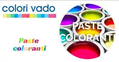 colori vado offerta paste coloranti a vado ligure promozione colori vado vado ligure savona