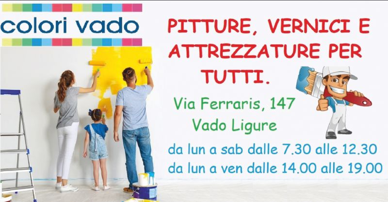 colori vado offerta vendita pitture professionali per interni - occasione vendita stucchi per esterni savona