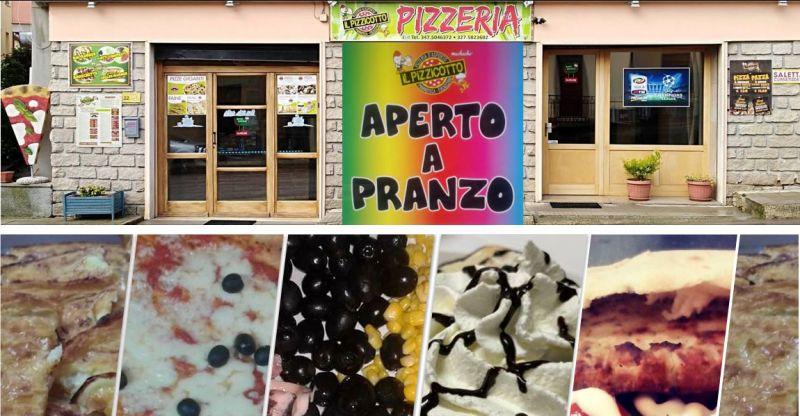 IL PIZZICOTTO Tempio Pausania - offerta menu pizza pranzo cena piatti composti