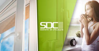 sdc sistemi di chiusura offerta vendita infissi alta efficienza energetica rivoli torino