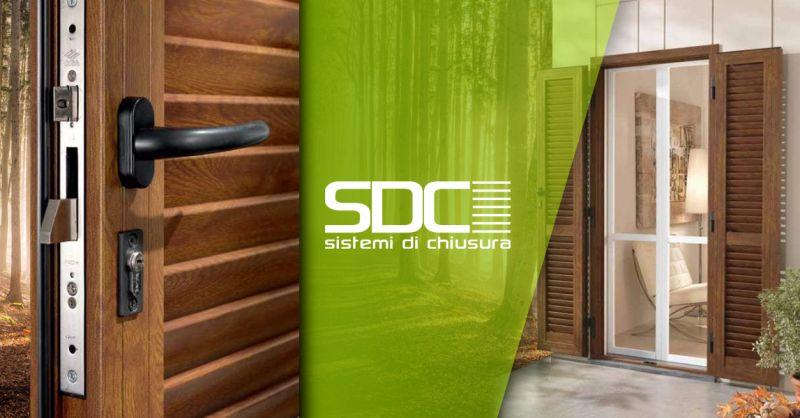 SDC SISTEMI DI CHIUSURA - Offerta Vendita Persiane Legno Alluminio Pvc Rivoli Torino