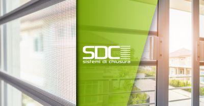 sdc sistemi di chiusura offerta vendita installazione zanzariere rivoli torino