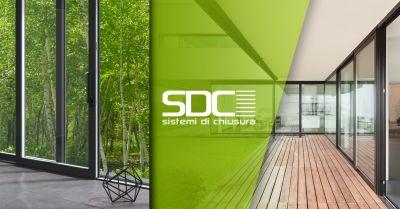 sdc sistemi di chiusura offerta vendita serramenti alluminio rivoli torino