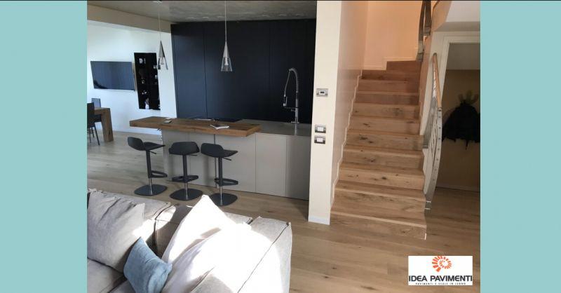 Offerta posa di pavimenti Treviso - Occasione restauro di pavimenti e scale in legno Treviso