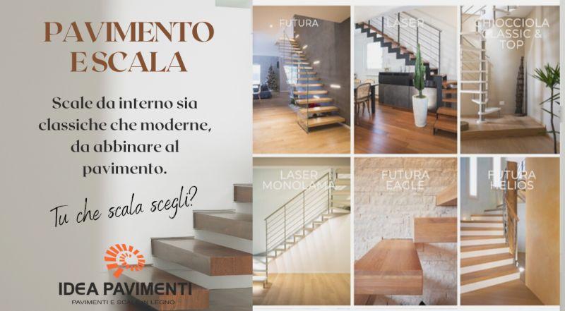 Offerta realizzazioni scale per interni ed esterni su misura a Treviso – vendita scale e pavimenti in legno personalizzate a Treviso