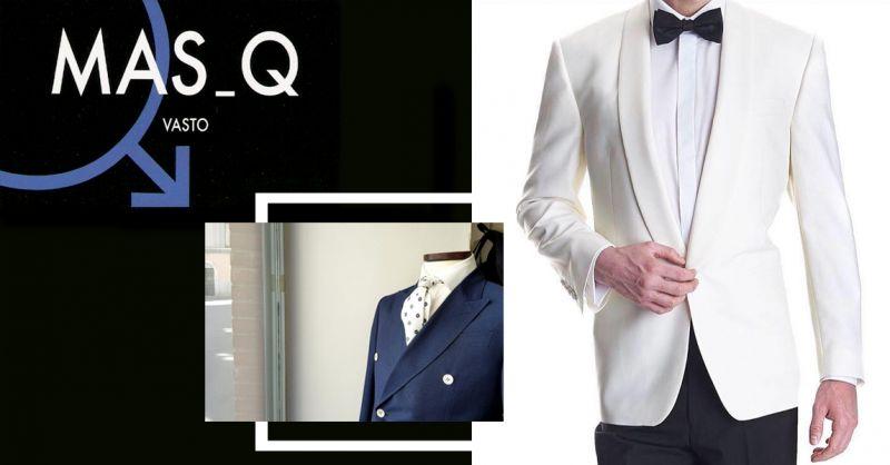MASQ offerta abbigliamento elegante uomo vasto - occasione negozio vestiti da sposo vasto