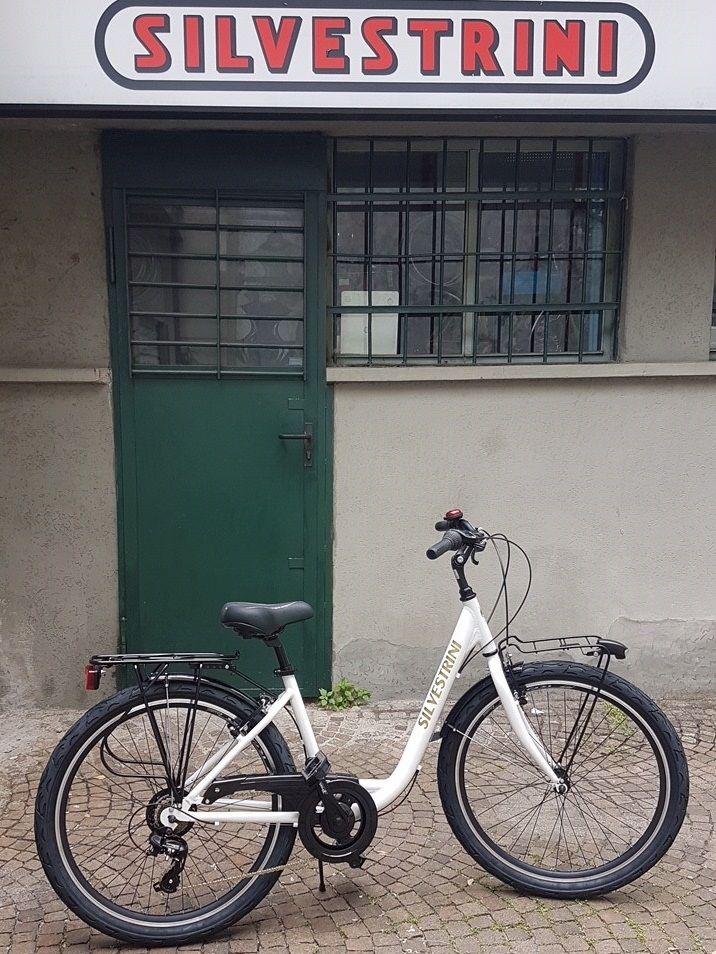 Offerta bicicletta monotubo unisex milano - occasione bici con cambio shimano milano