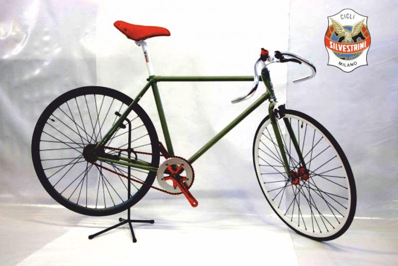 SILVESTRINI BICICLETTE offerta bici fixrd vintage - promo bici a scatto fisso da pista vintage
