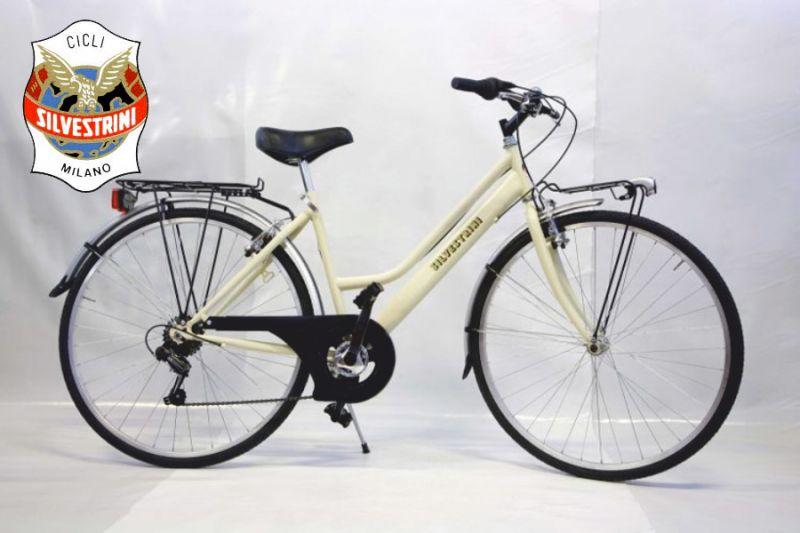 SILVESTRINI BICICLETTE offerta city bike - promozione bici adatta alla citta urban bicicletta