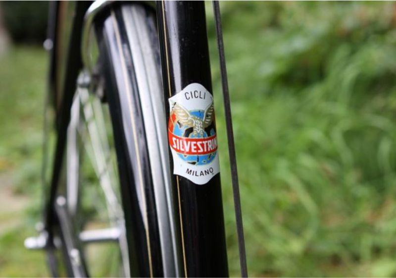 SILVESTRINI BICICLETTE offerta bici classica donna - promozione bicicletta nera misura 26