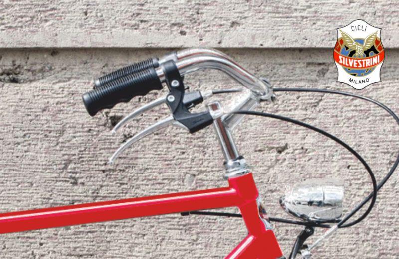 SILVESTRINI BICICLETTE offerta bici uomo classica retro – promozione bicicletta vintage rossa