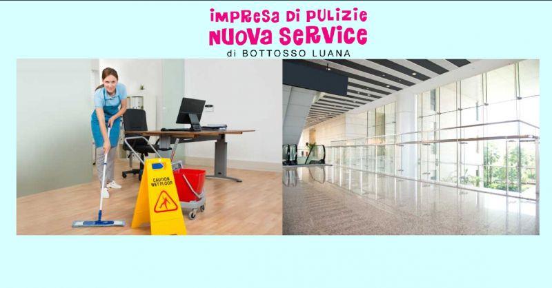 NUOVA SERVICE DI BOTTOSSO LUANA - Offerta servizio di pulizie civili e industriali Udine