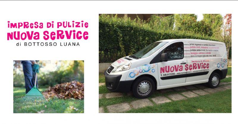 Offerta servizio di pulizie civili e industriali Udine - occasione sfalcio dell'erba Udine