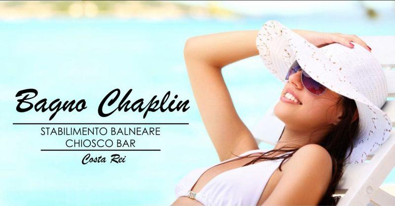 BAGNO CHAPLIN Costa Rei - offerta stabilimento balneare con chiosco bar ristorante