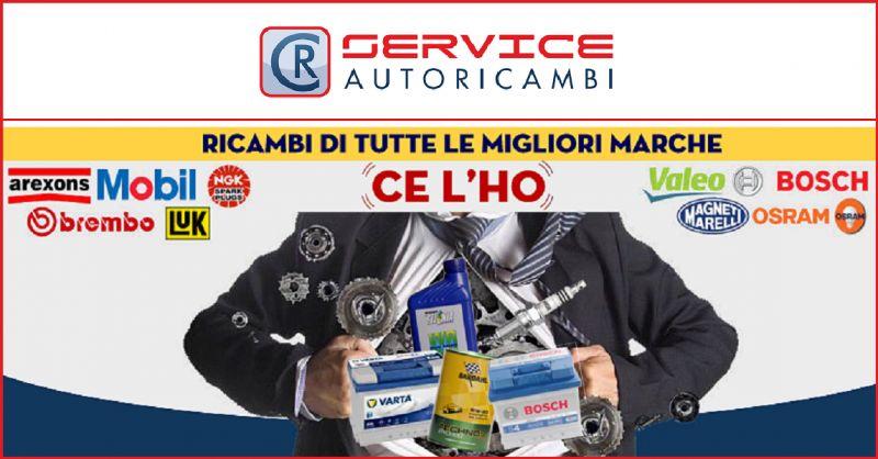 CR Service Autoricambi - Offerta vendita online componenti e ricambi multimarca auto e moto
