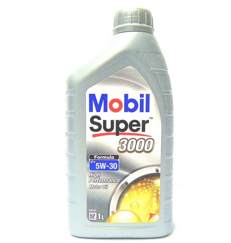 OFFERTA MOBIL OLIO MOTORE SUPER 3000 FORMULA C1 5W-30 1L