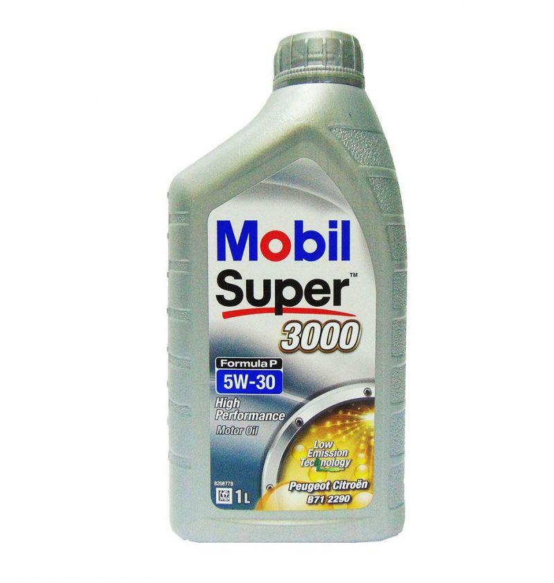OFFERTA OLIO MOTORE MOBIL AUTO SUPER 3000 FORMULA P 5W-30 1L