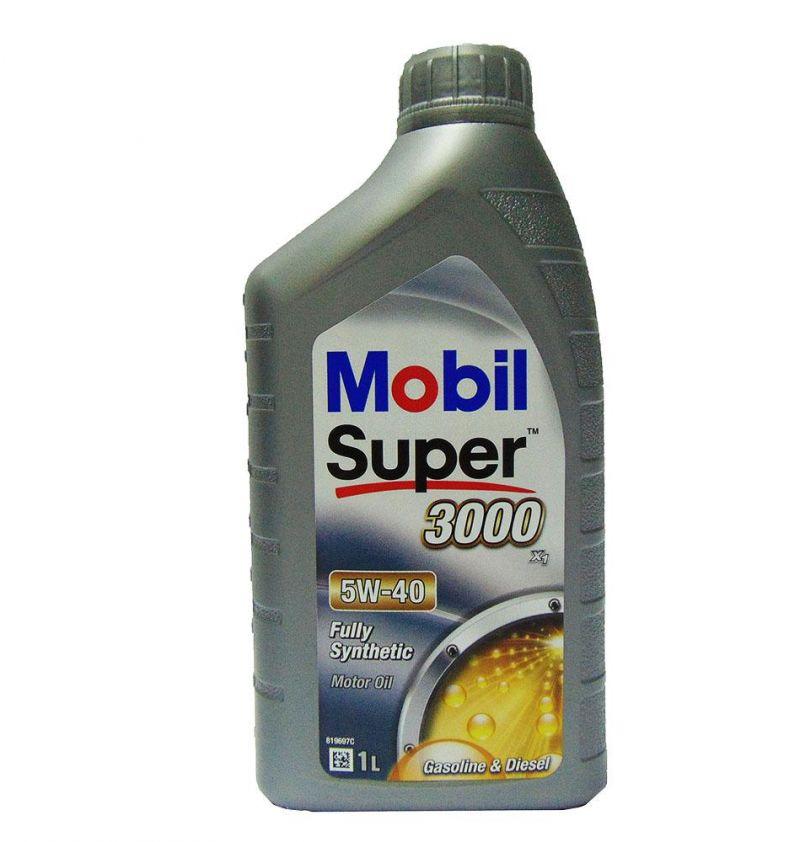 OFFERTA OLIO MOTORE MOBIL AUTO SUPER 3000 X1 5W-40 1L