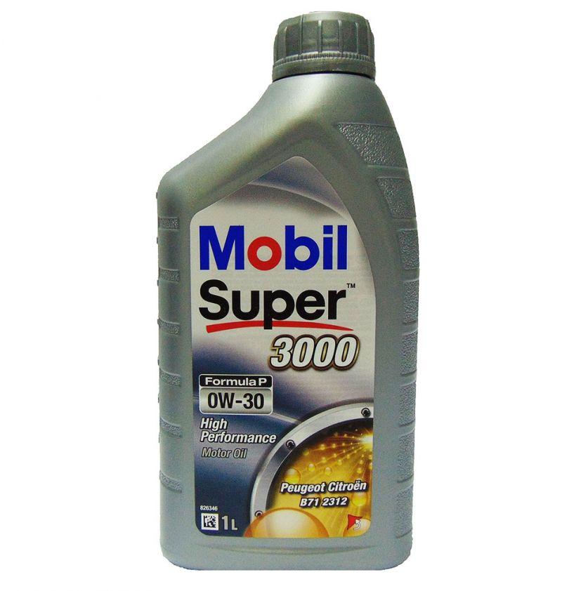 OFFERTA OLIO MOTORE MOBIL SUPER 3000 FORMULA P 0W-30 1L